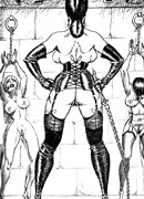 Lots of violence and dirty painful sex in the coolest black and white bdsm pics